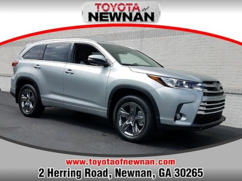 New 2018 Toyota Highlander Limited Platinum V6