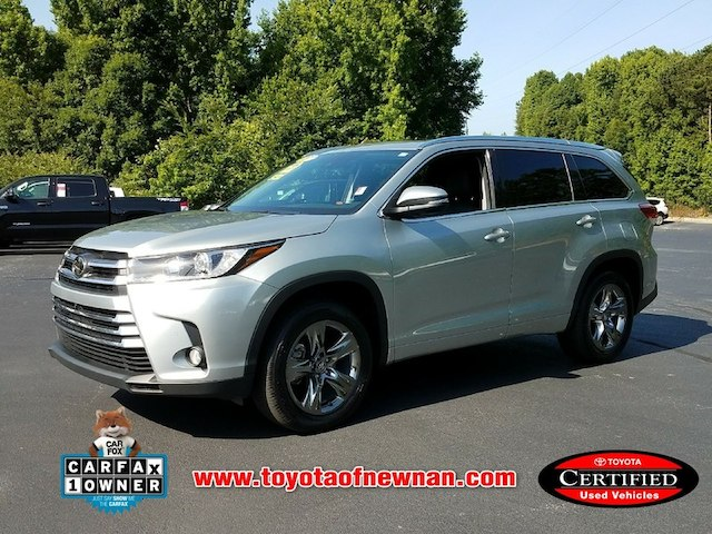 Certified Pre Owned 2017 Toyota Highlander Limited Platinum