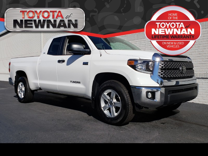 Pre-Owned 2018 TOYOTA TUNDRA SR5 DOUBLE CAB 6.5' BED 5.7L