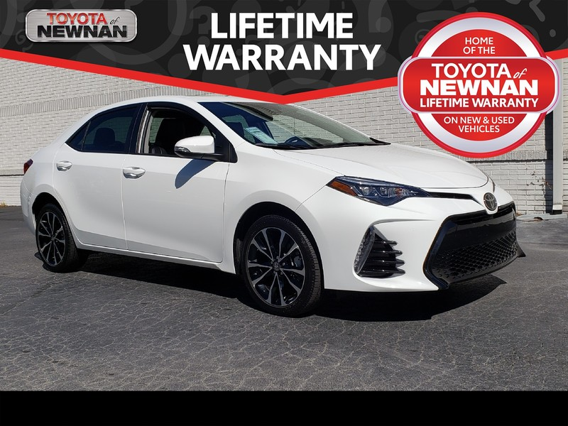 Pre-Owned 2019 TOYOTA COROLLA XSE CVT