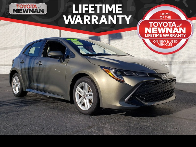 Pre-Owned 2019 TOYOTA COROLLA HATCHBACK (NATL)