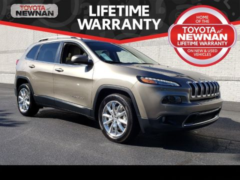 Pre-Owned 2016 JEEP CHEROKEE FWD 4DR LIMITED