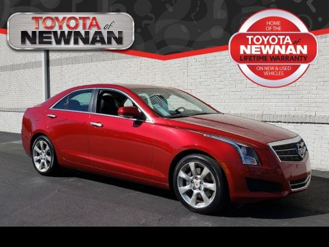 Pre-Owned 2014 CADILLAC ATS 4DR SDN 3.6L LUXURY RWD