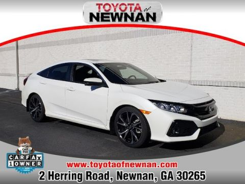 Pre-Owned 2018 Honda Civic 4DR SDN SI MT H