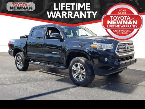 Pre-Owned 2016 TOYOTA TACOMA 4WD DOUBLE CAB V6 AT SR